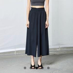 Rachel Comey Monterey Black Palazzo Wide Leg Pants
